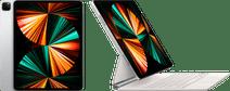 Apple iPad Pro (2021) 12.9 inch 128GB Wifi Zilver + Magic Keyboard QWERTY Wit iPad