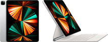 Apple iPad Pro (2021) 12.9 inch 256GB Wifi Zilver + Magic Keyboard QWERTY Wit