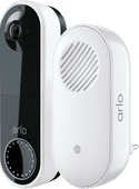 Arlo Wire Free Video Doorbell Wit + Chime