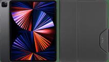 Apple iPad Pro (2021) 12.9 inch 1TB Wifi + 5G Space Gray + Targus VersaVu Book Case Zwart Apple iPad Pro 12.9 inch met 1TB opslagcapaciteit