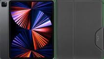 Apple iPad Pro (2021) 12.9 inch 128GB Wifi Space Gray + Targus VersaVu Book Case Zwart iPad