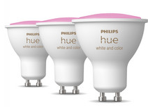 Philips Hue White & Color GU10 3-pack