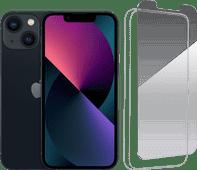 Apple iPhone 13 Mini 256GB Black + InvisibleShield Glass Elite+ Screen Protector