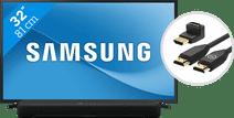 Samsung UE32T5300C (2021) + Soundbar + HDMI kabel Kleine tv's (t/m 32 inch)
