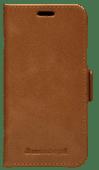 DBramante1928 Copenhagen Slim Apple iPhone 13 mini  Book Case Leer Bruin
