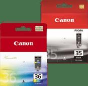 Canon PG-35 + CLI-36 Cartridge Combo Pack