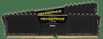 Corsair VENGEANCE® LPX 16GB (2 x 8GB) DDR4 DRAM 2666MHz C16