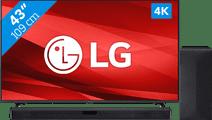LG 43UP77006LB (2021) + Soundbar