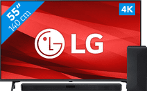 LG 55UP77006LB (2021) + Soundbar
