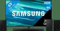 Samsung QLED 65Q80A (2021) + Soundbar + Surround speakers