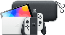 Nintendo Switch OLED Wit + Travel Case met Screenprotector