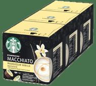 Starbucks Dolce Gusto Madagascar Vanilla Macchiato Dolce Gusto cups