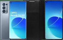 OPPO Reno6 Pro 256GB Grijs 5G + OPPO Reno6 Pro Book Case Zwart
