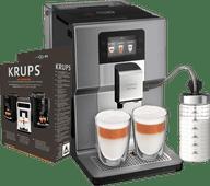 Krups Intuition Preference+ EA875E + Onderhoudskit Koffiebonen machine aanbieding