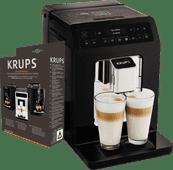 Krups Evidence EA8908 Zwart + Onderhoudskit Koffiebonen machine aanbieding