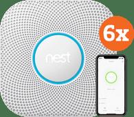 Google Nest Protect V2 Batterij 6-pack