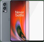 OnePlus Nord 2 128GB Grijs 5G + PanzerGlass Case Friendly Screenprotector Glas Grijs OnePlus smartphone