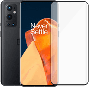 OnePlus 9 Pro 128GB Zwart 5G + PanzerGlass Case Friendly Screenprotector Glas OnePlus smartphone