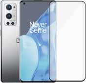 OnePlus 9 Pro 128GB Zilver 5G + PanzerGlass Case Friendly Screenprotector Glas OnePlus smartphone