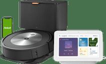iRobot Roomba J7+ + Google Nest Hub 2 Chalk Robotstofzuiger