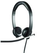Logitech USB Headset Stereo H650e Black