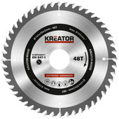 Kreator Saw Blade for Wood 165x30x2mm 48T
