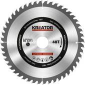 Kreator Saw Blade for Wood 210x30x2.2mm 48T