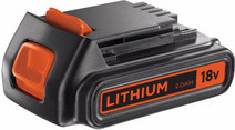 Black & Decker Battery 18V 2,0 Ah Li-Ion