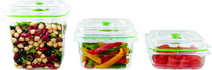 Foodsaver Fresh food containers 0.8L + 1.2L + 1.8L