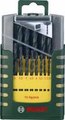 Bosch Metal Drill Bit Set HSS-TiN 19-piece