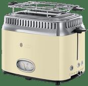Russell Hobbs Retro Vintage Cream Toaster