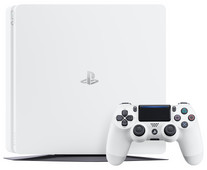 Sony PlayStation 4 Slim 500 GB Glacier Wit