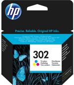 HP 302 Cartridge 3 Colors (F6U65AE)