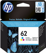 HP 62 Cartridge Kleur