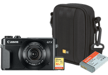 Starter kit - Canon Powershot G7 X II + Memory + Bag + Extra battery