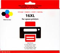 Pixeljet 16 XL 4-Color Pack for Epson printers (C13T16364010)
