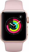 Refurbished Apple Watch Series 3 38mm Roségoud