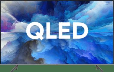 Image QLED tv's