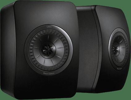 KEF LS50 Black Edition (per paar)